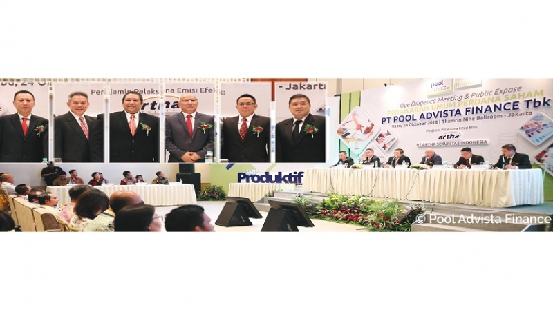 Due Diligent Meeting dan Public Expose PT Pool Advista Finance dalam rangka Penawaran Umum Saham