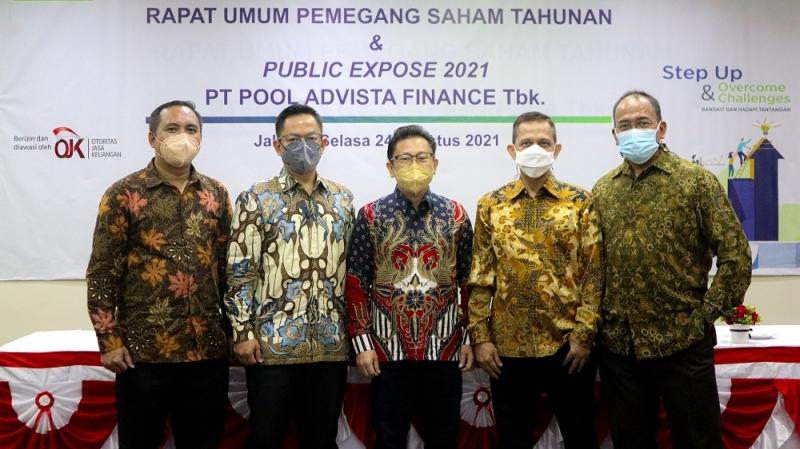 Ringkasan Risalah RUPS Tahunan 2021 PT Pool Advista Finance Tbk.