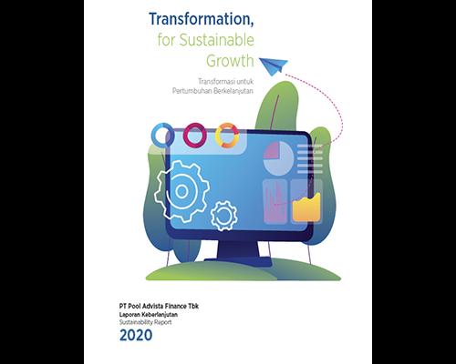 Laporan Berkelanjutan Periode 2020 - PT Pool Advista Finance Tbk/